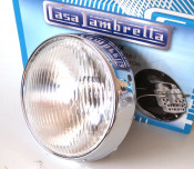 Complete headlight unit for Lambretta S3 LI 125 + LI150