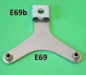 Clamp per fixing horn bracket E69 to the frame for Lambretta S3 pre-'68