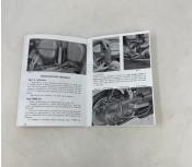 Owners manual Lambretta TV175 S3