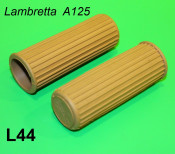 Coppia manopole beige Lambretta A125