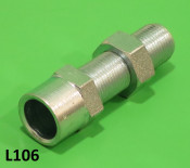 Gear cable adjuster (for gearchange control box on engine)