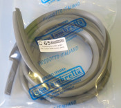 NEW IMPROVED QUALITY ITEMS!!! Pair of grey sidepanel rubber beadings