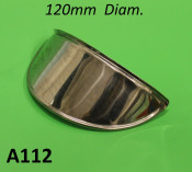 Accessory front headlight peak 120mm diam.