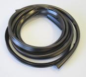 Pair of black sidepanel rubber beadings