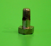 Nickel plated front seat bolt