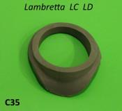 Plastic collar for petrol tank cap