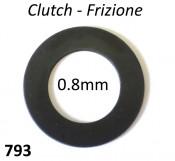 0.8mm Clutch shim Lambretta S1 + S2 + S3 + SX + DL / GP