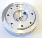 'Radiale' finned cylinder head for SS250 conversion with STANDARD position spark plug