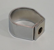 Chrome ring for fixing seat