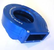 Complete CasaCooler blue CNC mag flange kit for original Lambretta engines