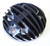 'Blackline Radiale' cylinder head + complete piston by Casa Performance for TS1225 engines