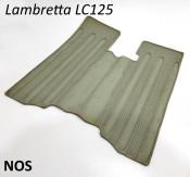 Original 1950's accessory green rubber floormat accessory for Lambretta LC125