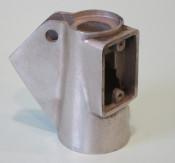 Light switch housing / handlebar throttle support for Lambretta J