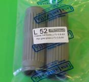 Pair of grey handlebar grips for all Lambretta S3 models
