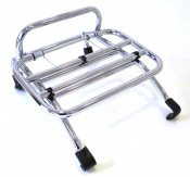 Chrome front carrier accessory for Lambretta V-Special