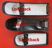 'Dante Longback' sports seat (black)