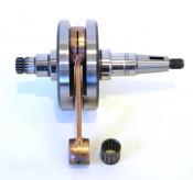 Complete (small cone type) crankshaft for Lambretta S1 + S2 + S3 + Serveta 125 / 150cc