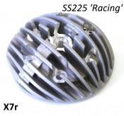 Casa Performance Radiale finned cylinder head for SS225, central sparkplug hole, for Lambretta TV200 + SX + GP + Serveta 200cc