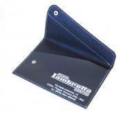Black + Dark Blue Rimini Lambretta Centre' scooter documents holder