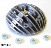 Casa Performance 'Radiale' finned cylinder head for SS265 Scuderia (CENTRAL plug version)