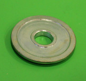 Thick chromed spacer washer for front hub nut B72
