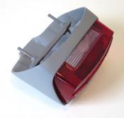 Complete rear light unit for Lambretta S2 (Vers. 2 mid.'60 - 1961)