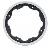 SIP Matt Black with polished edge tubeless wheel rim Lambretta S1 + S2 + S3 + GP + Serveta