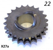 High quality 22T front drive sprocket