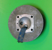 ORIGINAL cylinder head (with decompressor) Lambrettino 48 1st. series