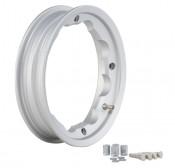 SIP Silver tubeless wheel rim Lambretta S1 + S2 + S3 + GP + Serveta