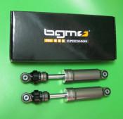 BGM Pro F16 Sport front shock - Grey - Lambretta S1 + S2 + S3 + SX + DL/GP + Lui