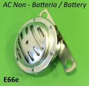 6V AC horn (non battery models) for Lambretta SX (post '68) + GP DL