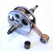 NEW! Complete Casa Lambretta crankshaft with 16mm gudgeon pin for Lambretta LD