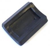 Original NOS Innocenti black rear brake pedal rubber for Lambretta GP DL + Serveta