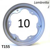"""10"""" inch wheel rim for Lambretta J"""