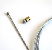 XL = 310cm! High quality multi-strand 'Super Light' EXTRA LONG throttle inner cable