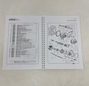 Spare parts catalogue Lambretta Model D125