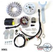 Casatronic Ducati 12V electronic ignition kit for LARGE CONE crankshafts