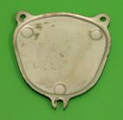 Support plate (NOS Innocenti) to fix plastic speedo blanking piece A26 for Lambretta J50