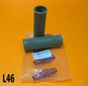 Grey handlebar grips Lambretta C + LC + D + LD