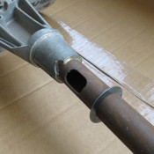 Throttle tube external washer for Lambretta S3 + TV3 + Special + SX + GP + Serveta