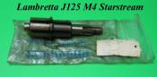 Original NOS 4 speed rear wheel axle / layshaft Lambretta J125 M4 Starstream