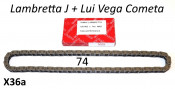 VERY high quality Iwis 74 link drive chain for Lambretta Lui Vega Cometa + J