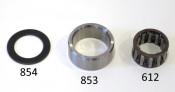 Bussola (boccola) in acciaio per la gabbia a rulli del cluster nel cambio