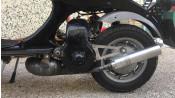 Casa Performance Lunasport exhaust for Lambretta Vega One35