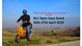 RIMINI LAMBRETTA CENTRE 'OPEN DAYS' EVENT 26-27-28th Aprile 2019