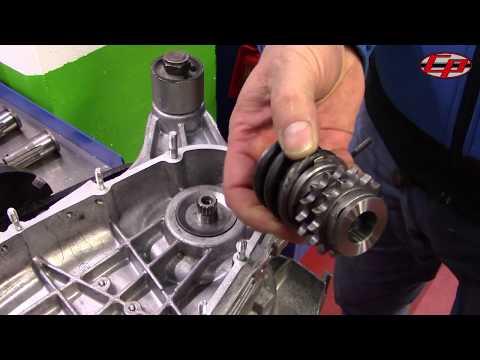 Casa Performance Lambretta front sprocket assembly upgrade