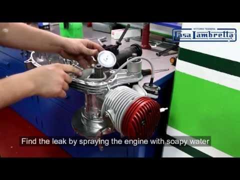 Casa Lambretta SS Performance kit fitting guide + pressure test