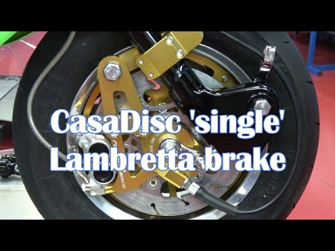 Casa Performance | CasaDisc 'Single' Lambretta brake instructions