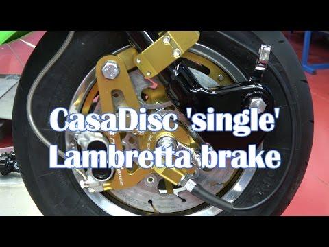 Casa Performance   CasaDisc 'Single' Lambretta brake instructions